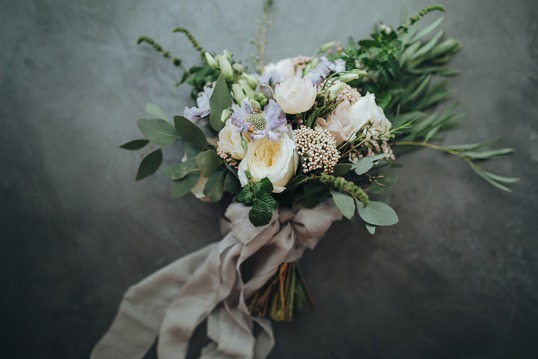 Flower bouquet from a beautiful New Zealand wedding in Queenstown