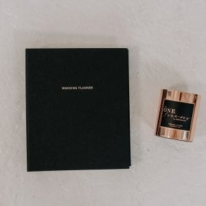 Wedding Planner | Black + One Fine Day Candle - Shop Wedding gifts, packages and planning tools from One Fine Day