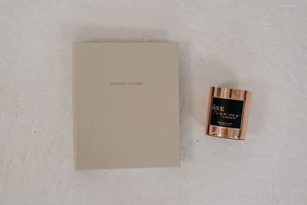 Wedding Planner | Ecru + One Fine Day Candle - Shop Wedding gifts, packages and planning tools from One Fine Day
