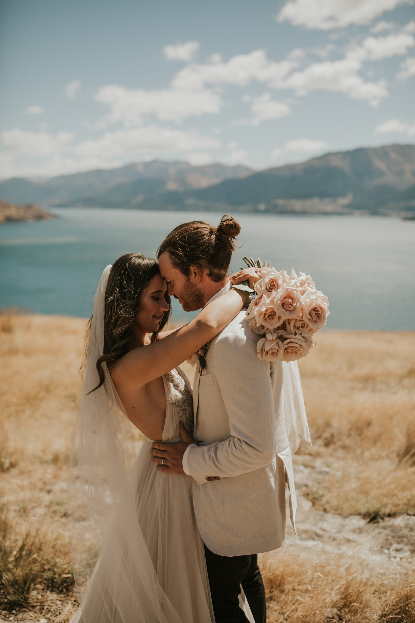 Jaycee and Cameron - Real Queenstown Wedding | One Fine Day