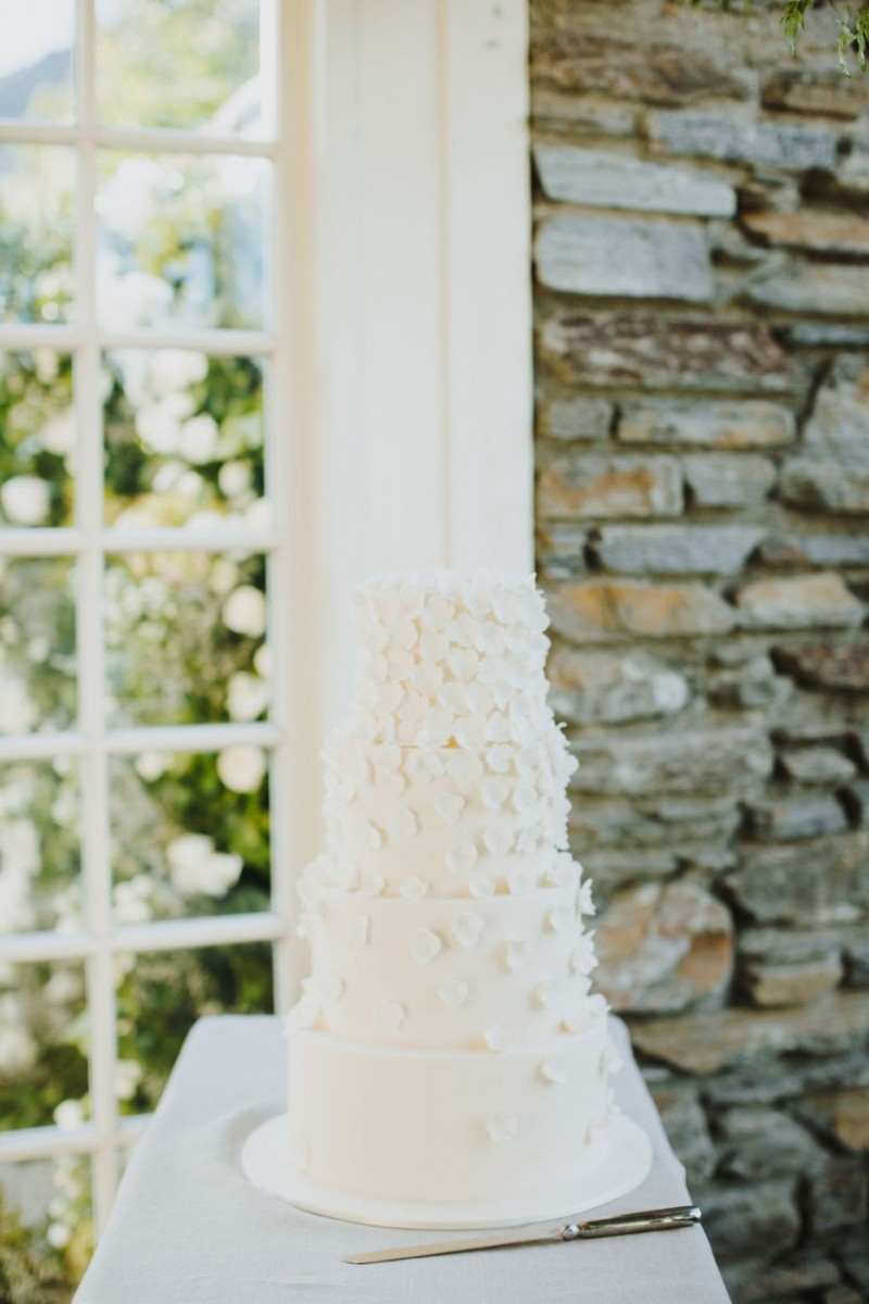 Cakes of Wanaka stunning wedding cake | One Fine Day