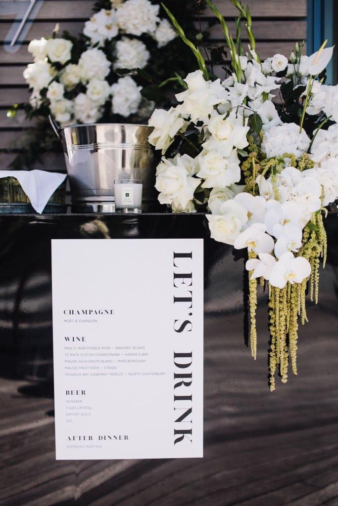 Wedding menu | One Fine Day