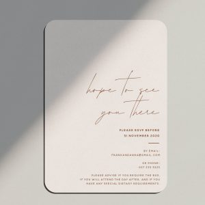 Stationery Collection Taupe - Shop Wedding gifts, packages and planning tools from One Fine Day