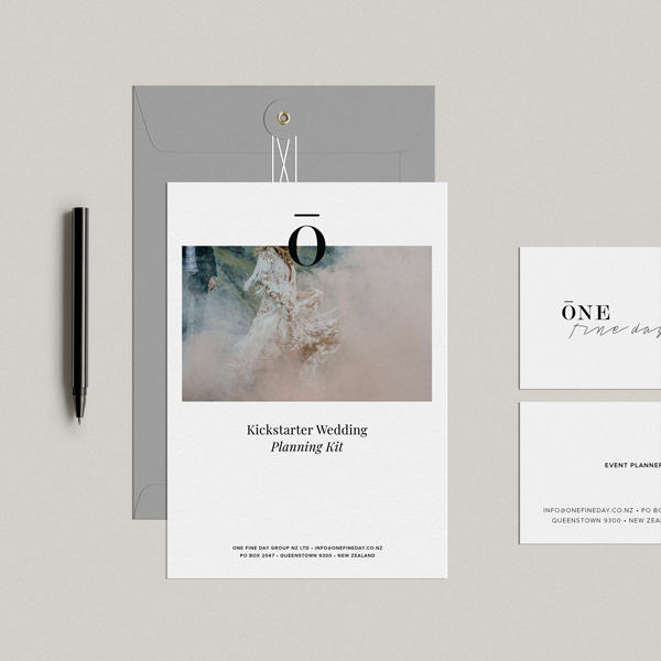 Kickstarter Wedding Planning Kit - Shop Wedding gifts, packages and planning tools from One Fine Day